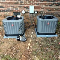 Installation of Two Heat Pump Systems